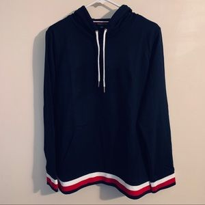 TOMMY HILFIGER SPELLOUT HOODIE SWEATER XL